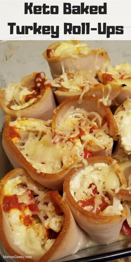 Keto Baked Turkey Roll-Ups