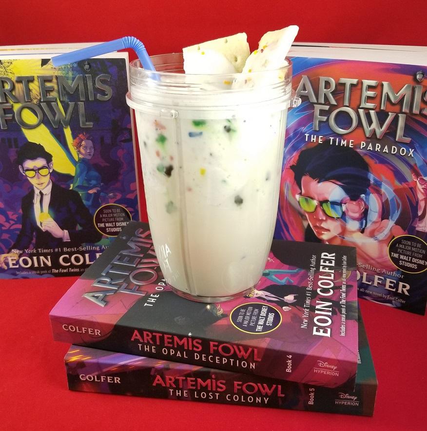 artemis fowl inspired vanilla milkshake hero image
