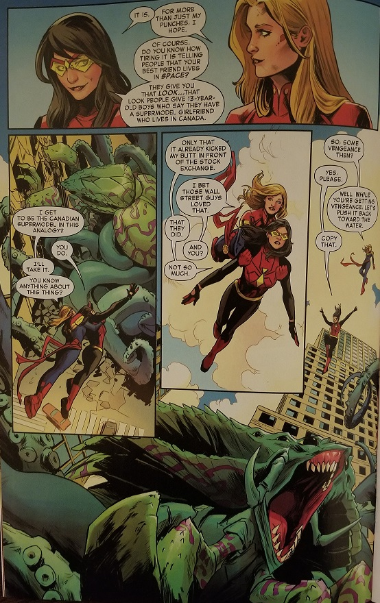 captain marvel 1 jessica drew and carol danvers