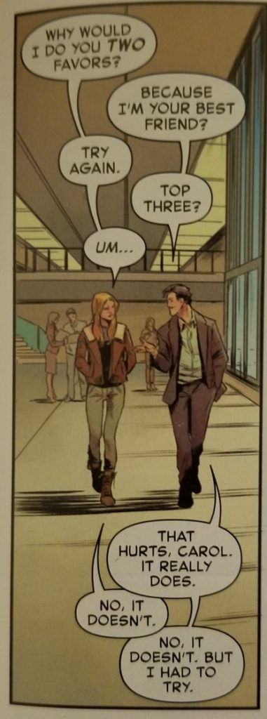 captain marvel 1 tony and carol banter