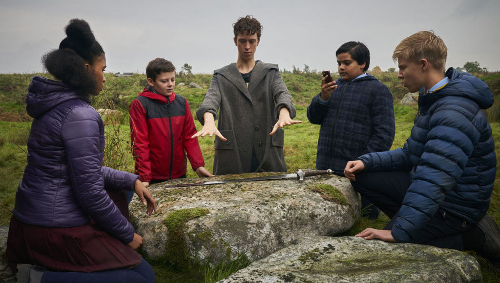 THE KID WHO WOULD BE KING merlin
