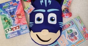 DIY Catboy PJ Masks Valentine Holder