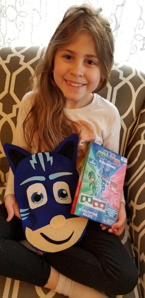 DIY Catboy PJ Masks Valentines day Holder