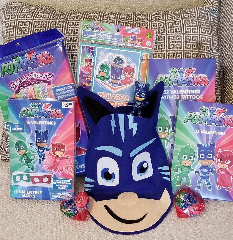 DIY PJ Masks Catboy valentine holder