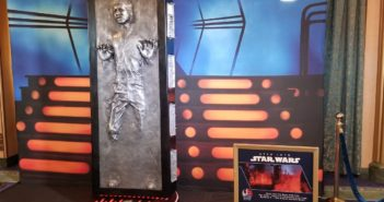 han solo prop star wars day at sea 2019