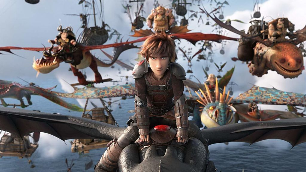 how to train your dragon 3 dragons