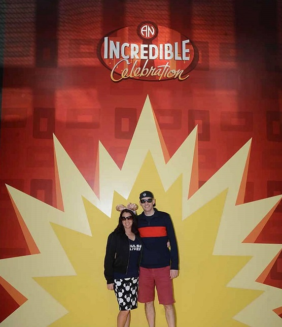 incredibles celebration wall