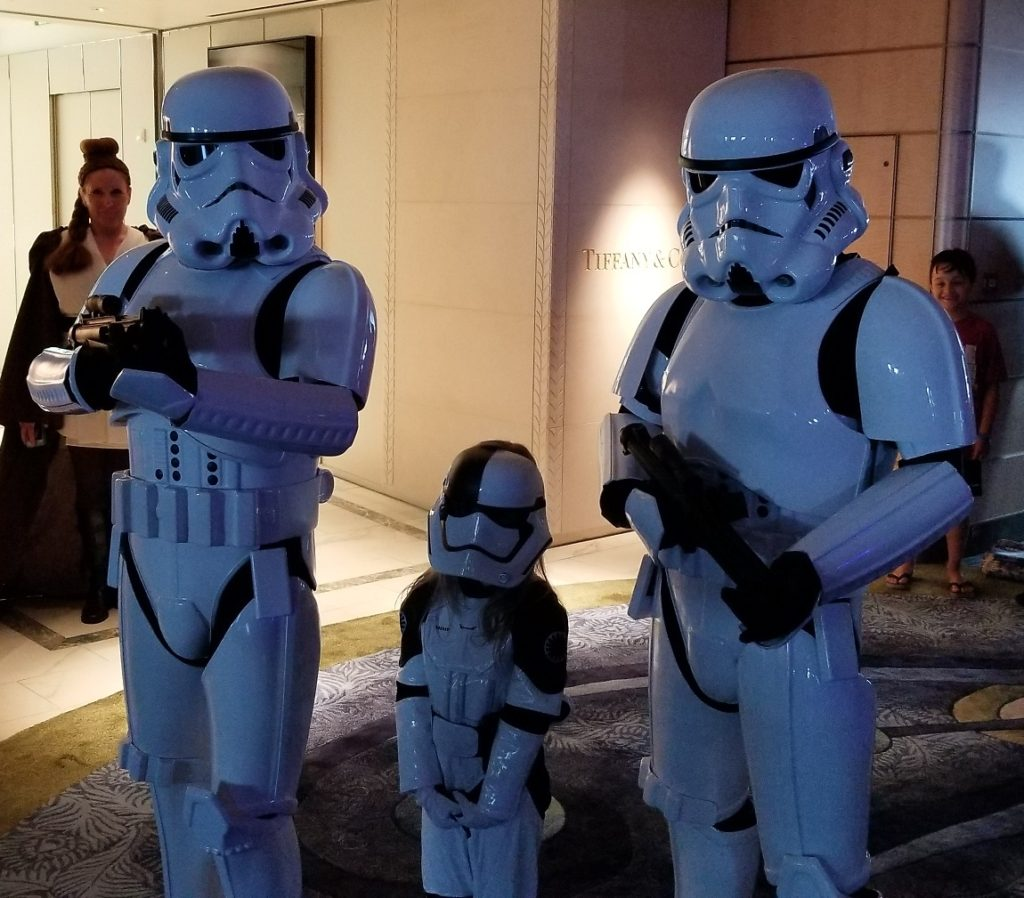 star wars day at sea 2019 stormtroopers