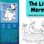 The Little Mermaid Printable Activity Sheets + New Blu-ray Bonus Features!
