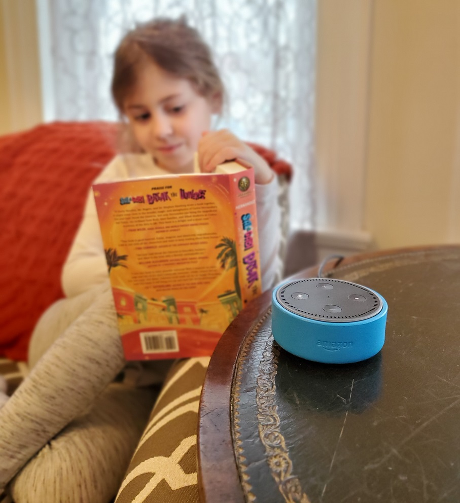 Amazon Echo Kids Edition Reading