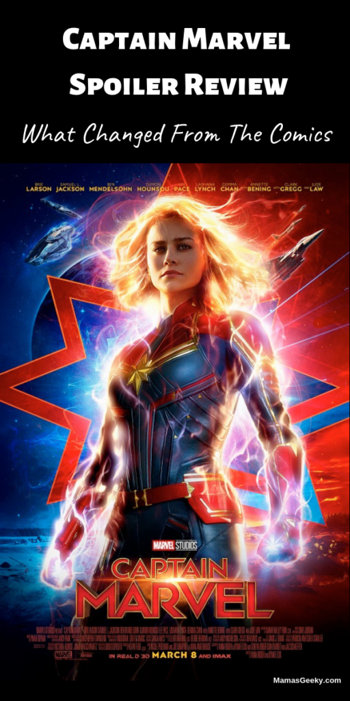 Captain Marvel Spoiler Review