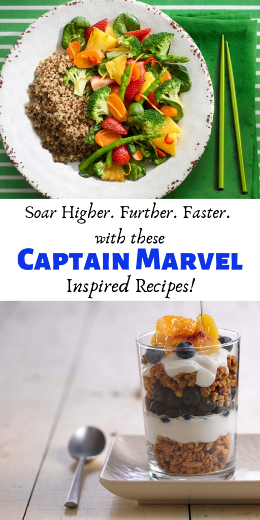 Captain Marvel recipes