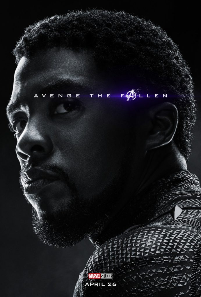 Endgame Poster Black Panther