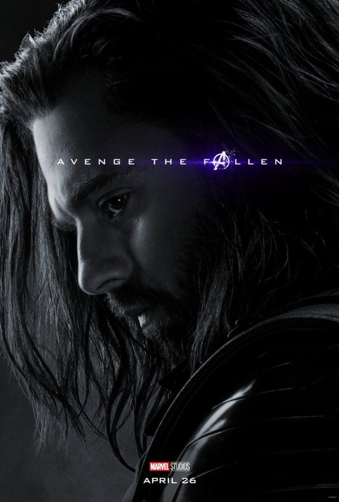 Endgame Poster Bucky