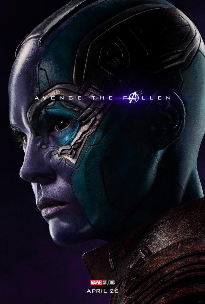 Endgame Poster Nebula