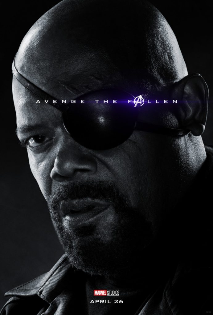 Endgame Poster Nick Fury