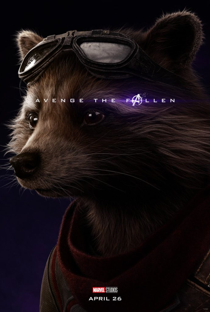 Endgame Poster Rocket Raccoon