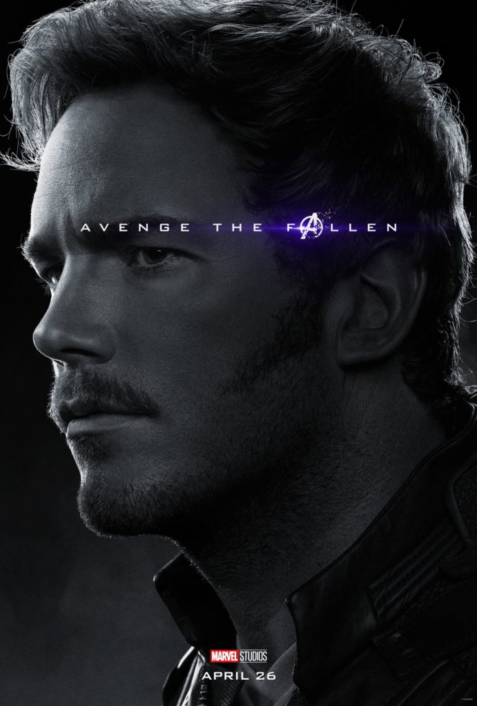 Endgame Poster Star-Lord