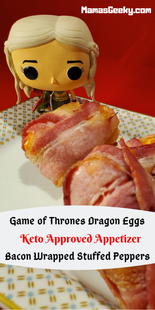 Game of Thrones Dragon Eggs Keto Appetizer