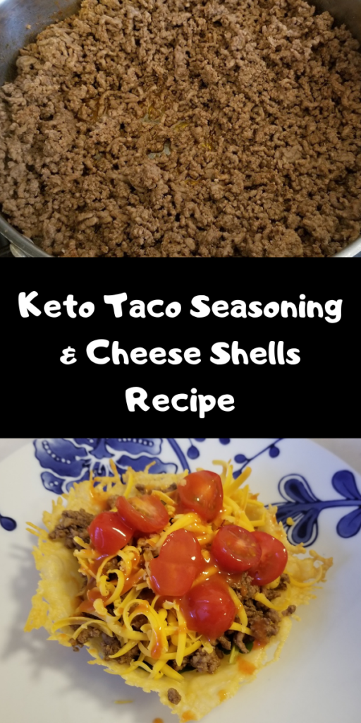 Keto Taco Seasoning & Cheese Shells Recipe