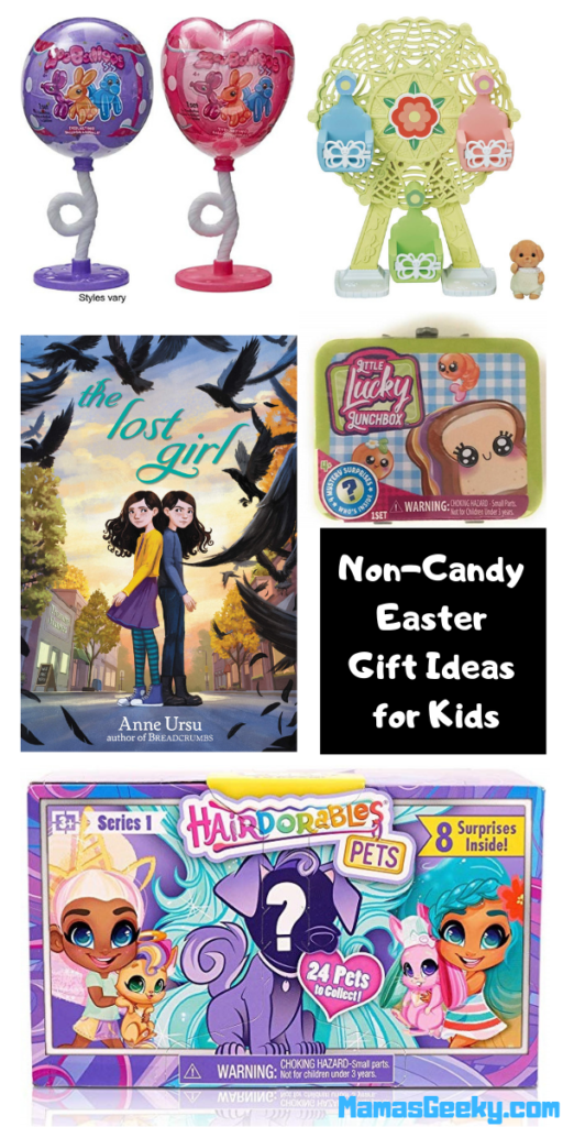 Non-Candy Easter Gift Ideas for Kids