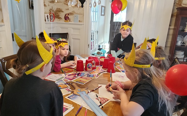 She-Ra Party Activities