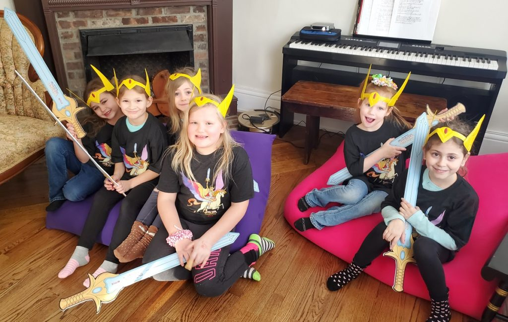 She-Ra Party bean bag chairs