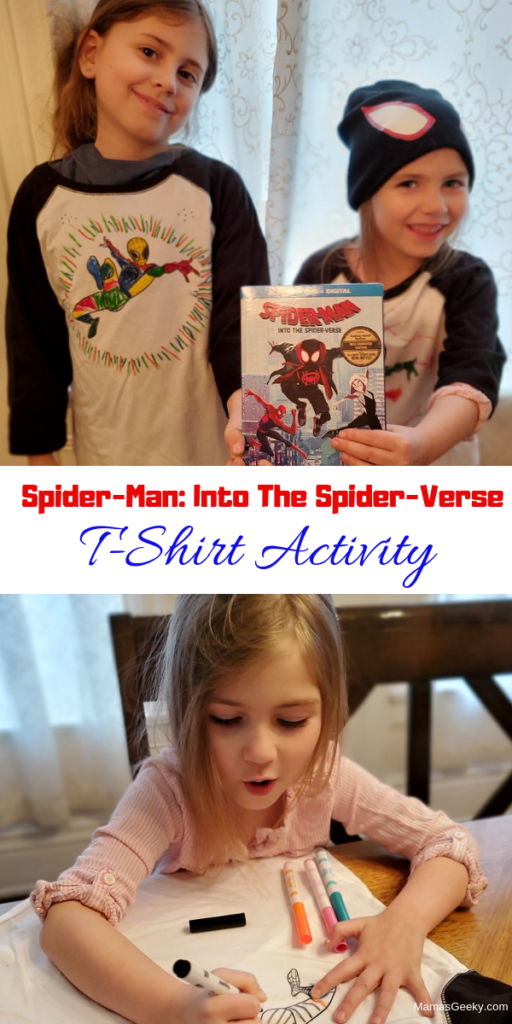 Spider-Man_ Into The Spider-Verse T-Shirt Activity