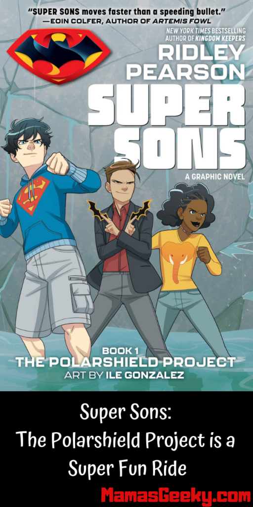 Super Sons_ The Polarshield Project is a Super Fun Ride