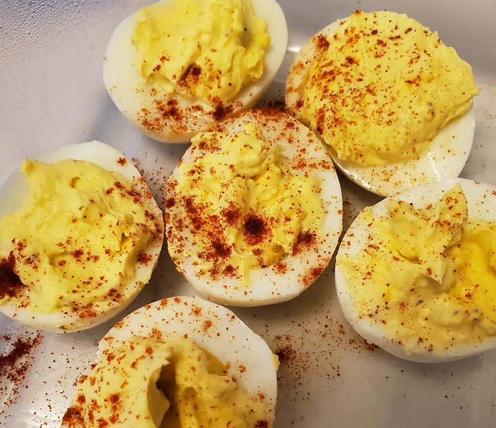 deviled eggs keto egg fast