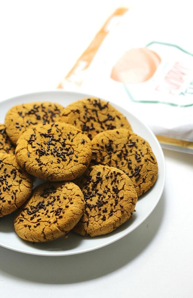 keto pumpkin spice latte cookies