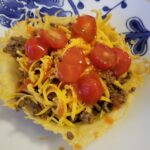 "Low Carb & Keto Taco Seasoning & Parmesan Cheese ""Shell"" Recipe"