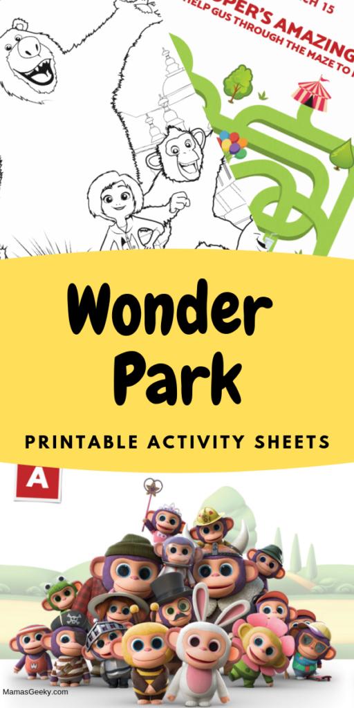 wonder park printables
