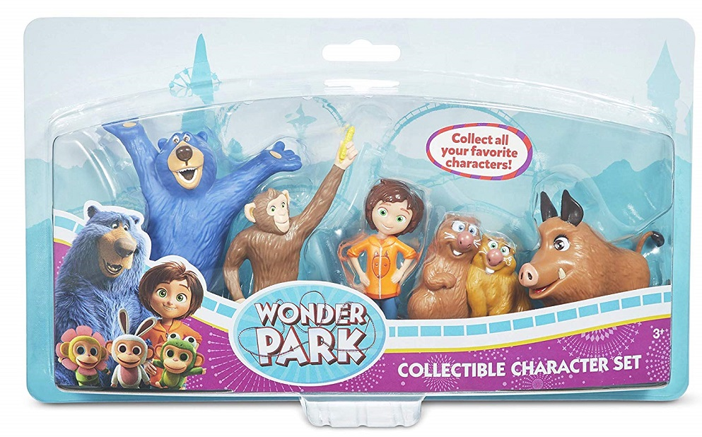 wonderparks character set