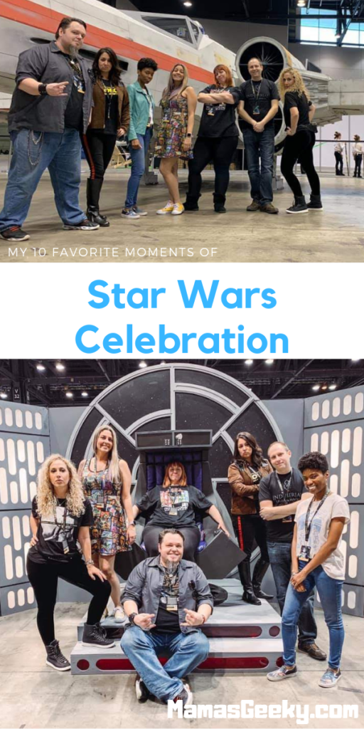 10 Favorite moments of star wars celebration 2019