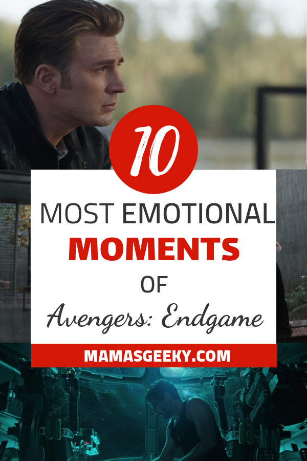 10 most emotional moments of avengers endgame