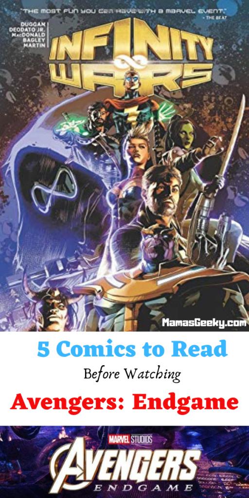 5 Comics to Read before Avengers Endgame