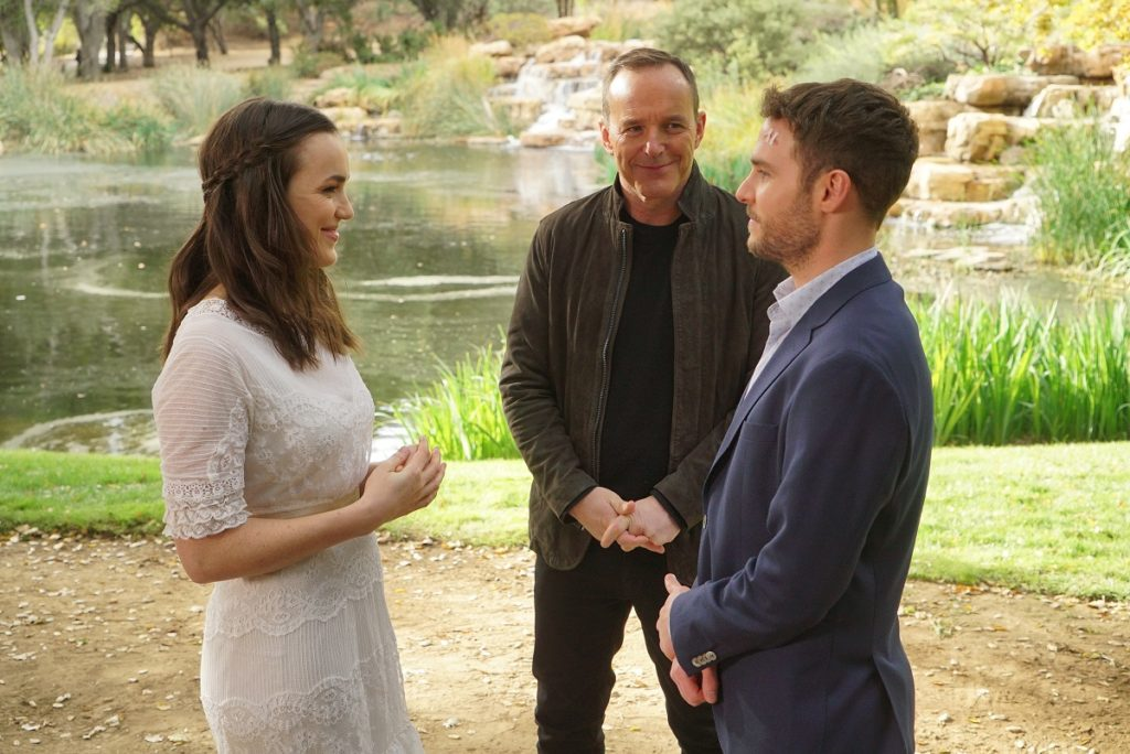 Agents of SHIELD Fitz Simmons Wedding