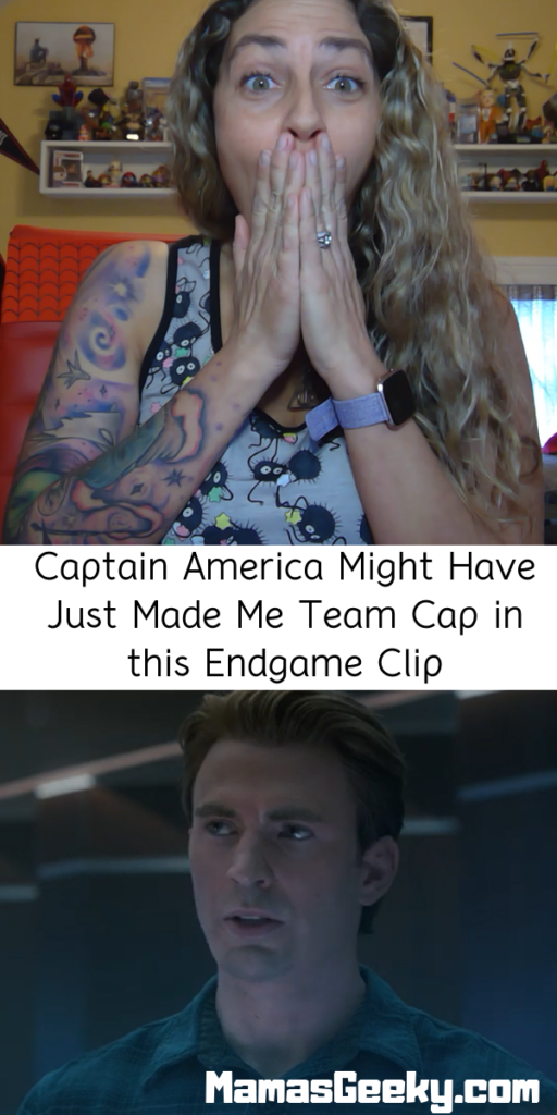 Captain America Might Have Just Made Me Team Cap in this Endgame Clip