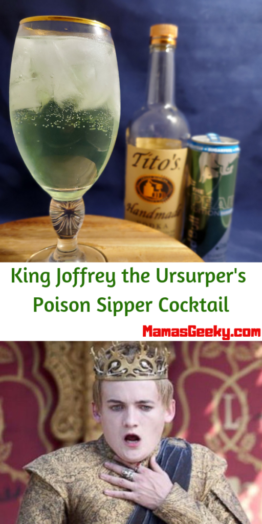 King Joffrey the Ursurper's Poison Sipper Cocktail