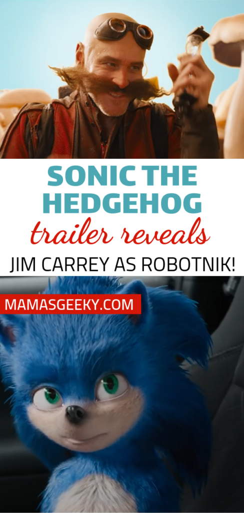 Sonic the hedgehog trailer dr robotnik