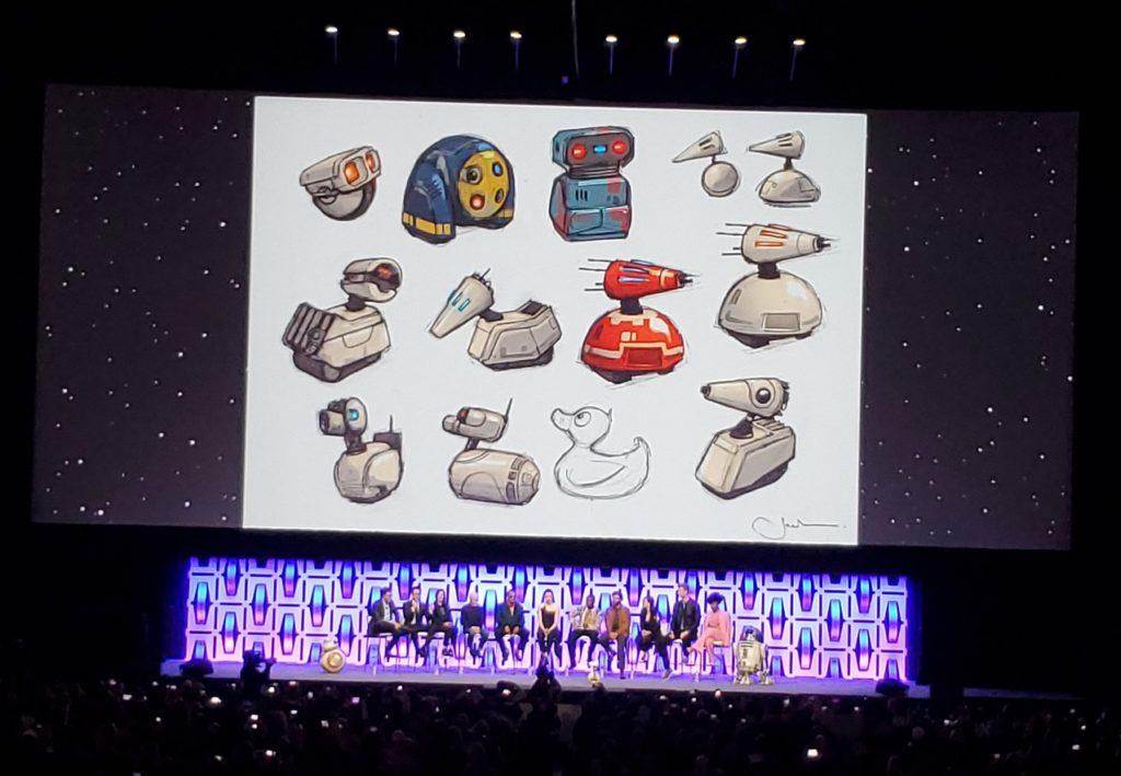 Star Wars Celebration Droids