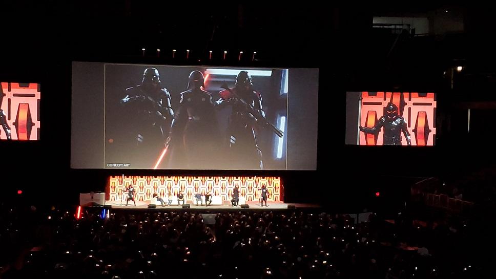 Star Wars Celebration purge troopers