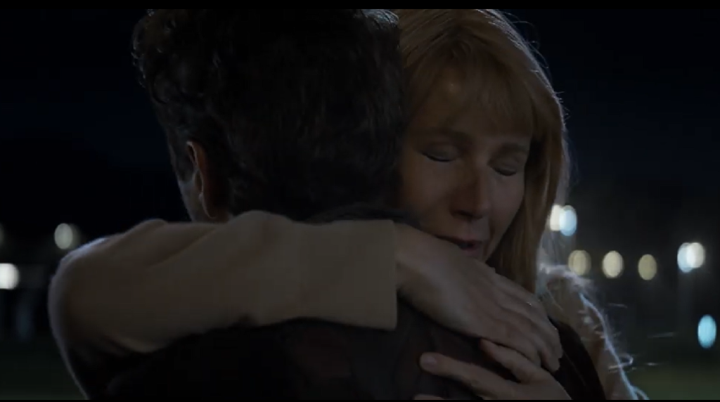 avengers endgame pepper and tony embrace