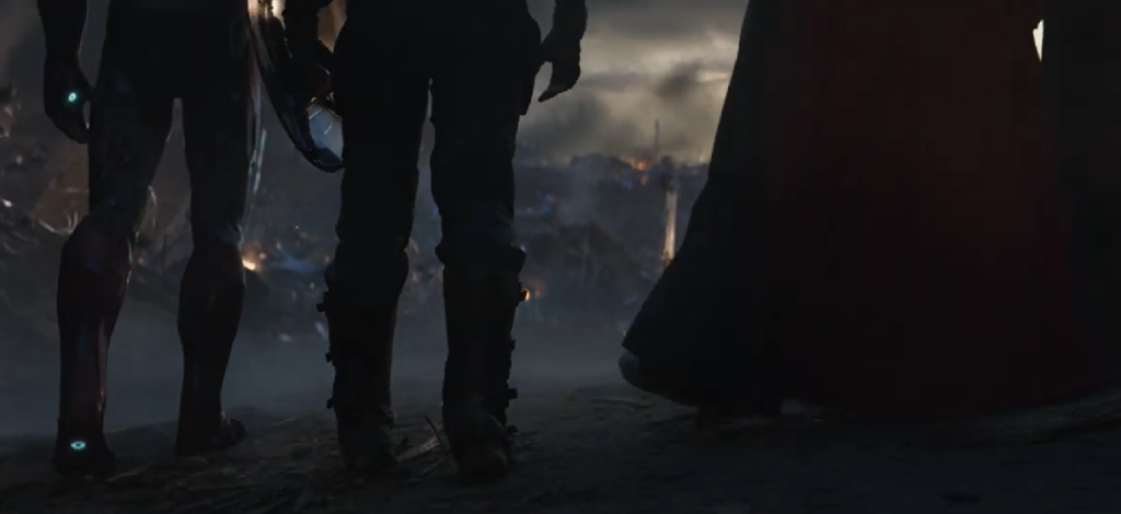 avengers endgame tony cap doctor strange