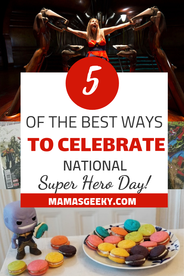 best ways to celebrate national super hero day