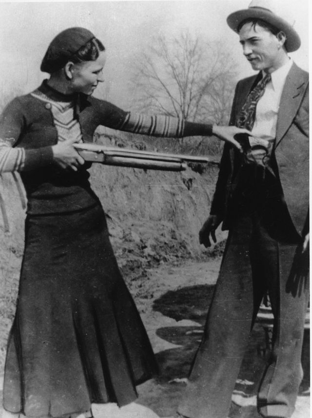 bonnie and clyde the highwaymen