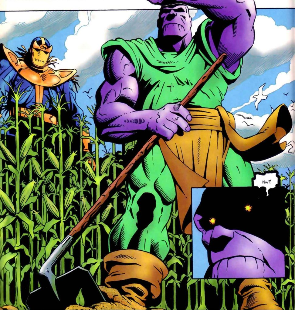 farmer thanos marvel comics