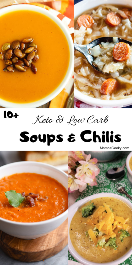 keto low carb soups and chilis