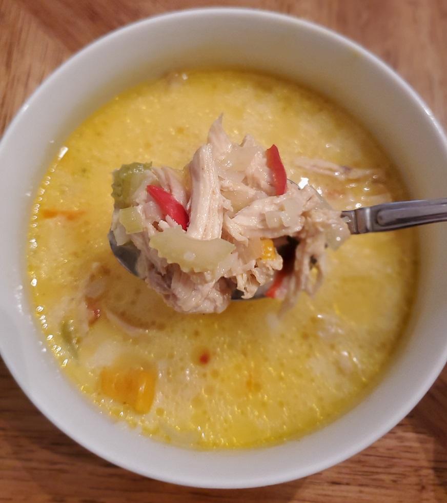 keto mulligatawny soup